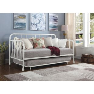 Trever Metal Daybed with Trundle by August Grove
