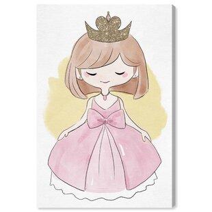 'New Hartford Kind And True Princess' Canvas Art By HoneyBee Nursery
