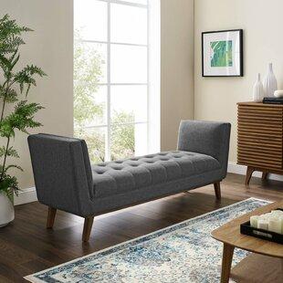 Tamela Upholstered Bench by Wrought Studio