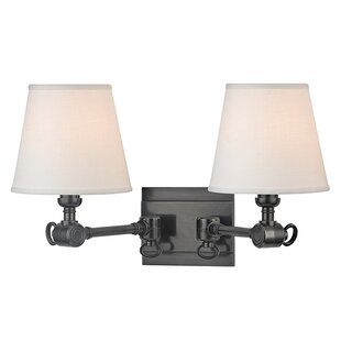 Darby Home Co Elmbridge 2-Light Swing Arm Lamp