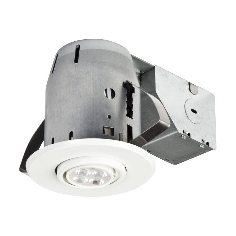 globe electric company ic rated swivel 3 recessed lighting kit