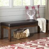 Lyons Wood Kitchen Bench by Loon Peak