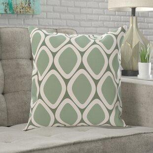 Massey Geometric Print Outdoor Pillow