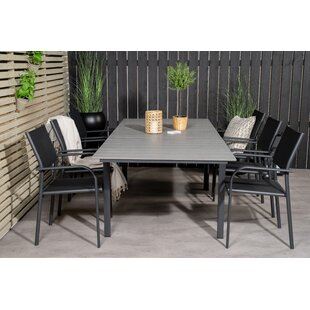 Akilah 6 Seater Dining Set By Sol 72 Outdoor
