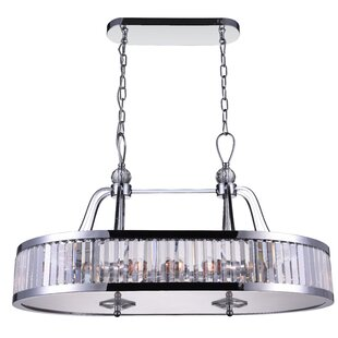 Belvoir 10-Light Drum Chandeliers by CWI Lighting
