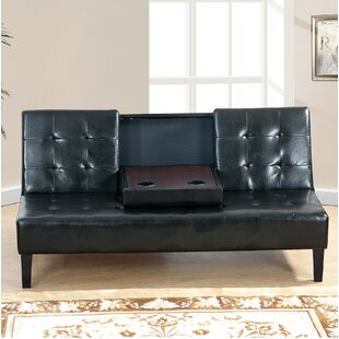 Fern Rock Convertible Sofa by Ebern Designs