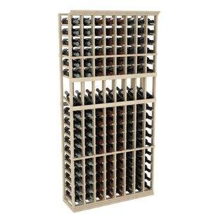 Wineracks.com Prestige Series 8 Column Display 136 Bottle Floor Wine Bottle Rack