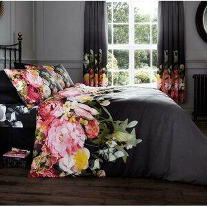Faded Floral Duvet Set