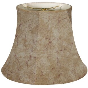16 Faux Leather Bell Lamp Shade