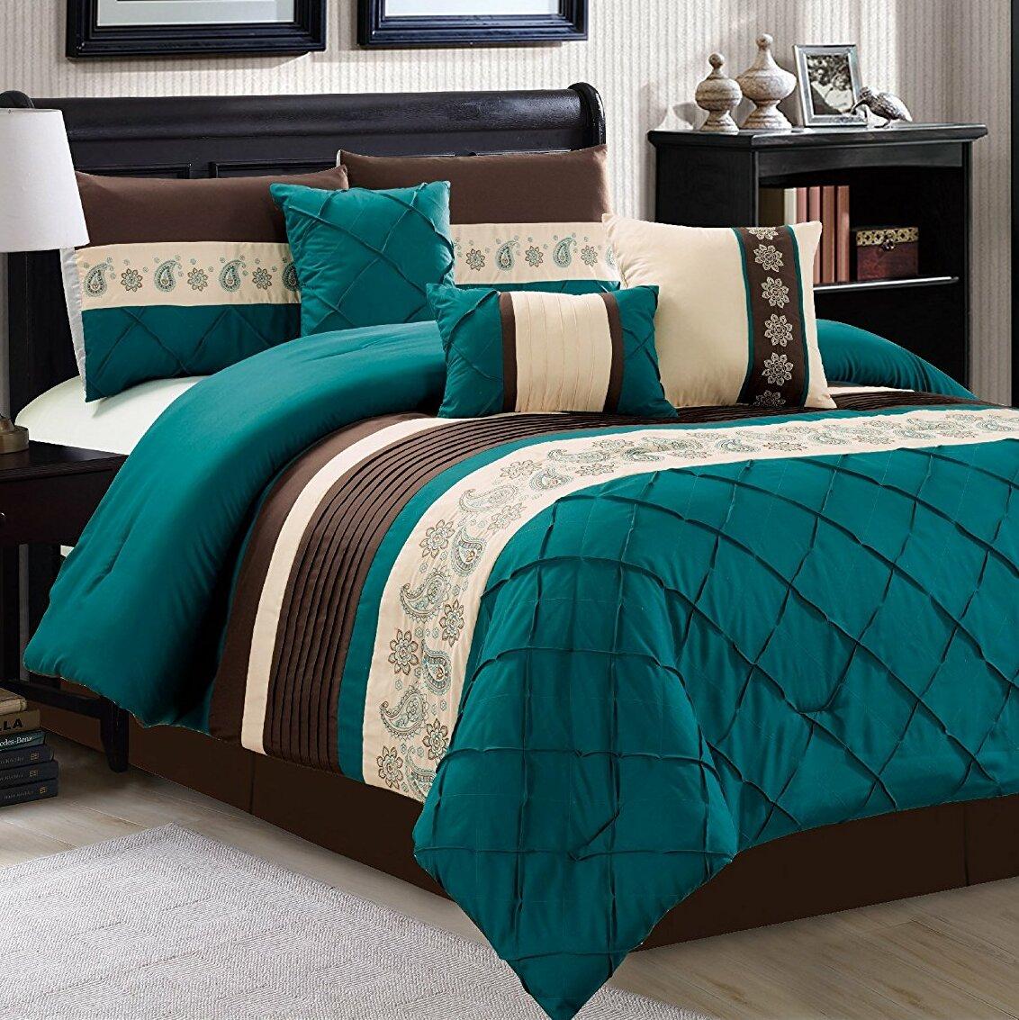 Latitude Run Hungate 7 Piece Comforter Set Reviews Wayfair