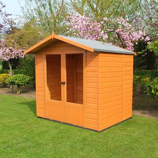 7 X 5 Ft. Shiplap Summer House By Sol 72 Outdoor