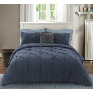 Manolis Washed Microfiber Comforter Set
