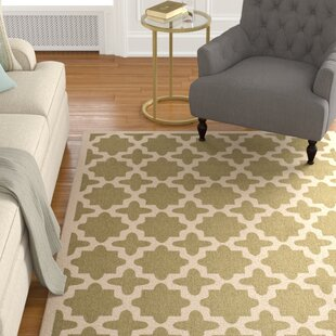 Fredricks Green/Beige Indoor/Outdoor Area Rug