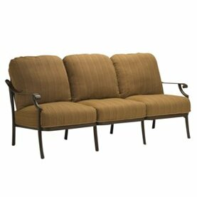 Montreux Patio Sofa with Cushions by Tropitone