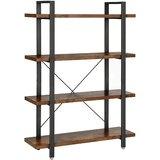 Kavan 53.3 H x 41.3 W Etagere Bookcase by 17 Stories