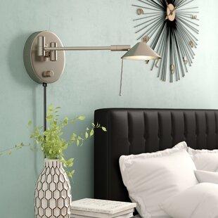 Wrought Studio Sylvan Place Swing Arm Lamp