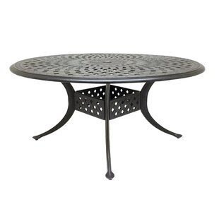 Campion Metal Dining Table by Fleur De Li..