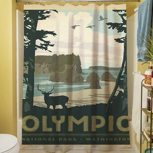 Olympic Single Shower Curtain