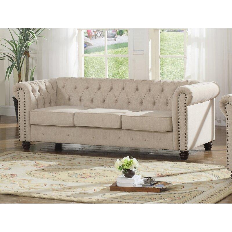 Ophelia & Co. Sharniece Modern Sofa & Reviews   Wayfair