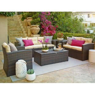 Hanscom 5 Piece Sofa Set with Cushions by Ivy Bronx