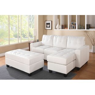 Ebern Designs Omeara Bonded Sectional wit..