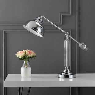 Fabian Metal and Crystal 22 Desk Lamp