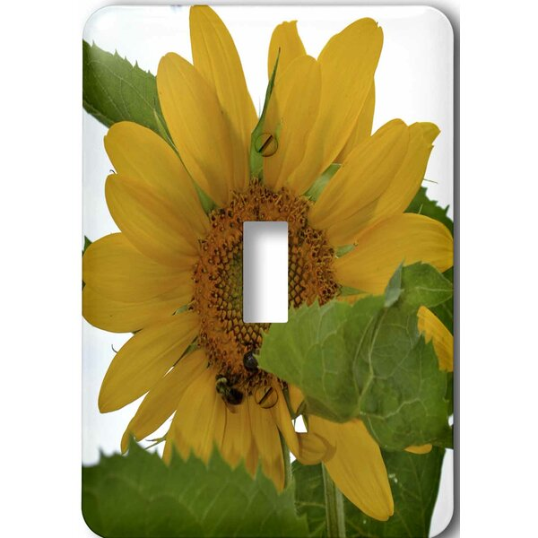 RUSTIC WATERING CAN SUNFLOWERS LIGHTSWITCH PLATE OUTLET COUNTRY FARM HOUSE DECOR