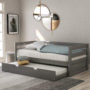Hartly Twin Day Bed with Trundle by Harriet Bee