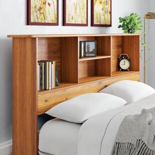 Laga Bookcase Headboard by Millwood Pines