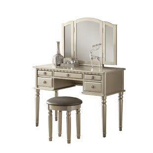 Absher Vanity Set With Mirror