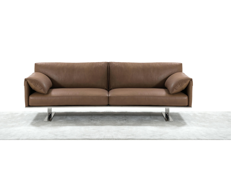 Orren Ellis Fuente Italian Leather Sofa | Wayfair