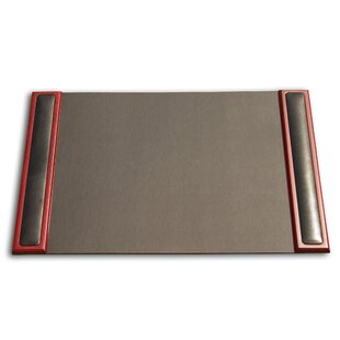 Dacasso 8000 Series Rosewood & Leather Desk Pad