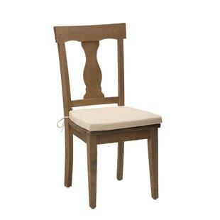 August Grove Zepeda Solid Wood Dining Chair (Set of 2)