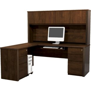 Kenworthy Reversible Executive Desk with Hutch