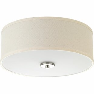 Three Posts Greenwell 2-Light Flush Mount