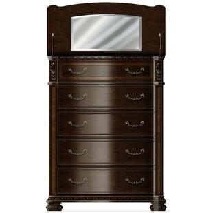 Astoria Grand Redbud Bedroom 5 Drawer Chest