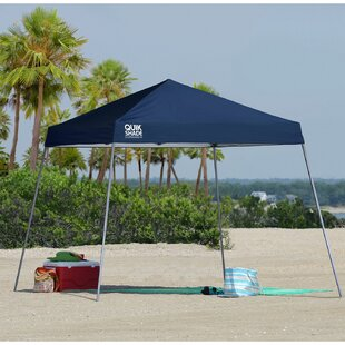 QuikShade Quik Shade 10 Ft. W x 10 Ft. D Steel Pop-Up Canopy