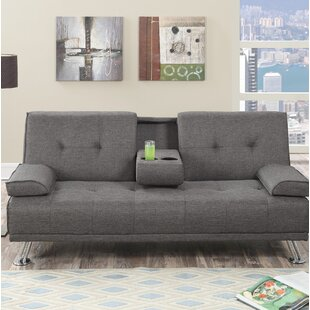Dansby Adjustable Convertible Sofa by Wro..