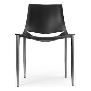 Sloane Genuine Leather Upholstered Dining Chair Modloft Black