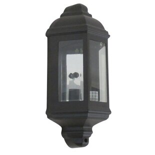 Woodville Exterior LED Outdoor Wall Lantern by Fleur De Lis Living