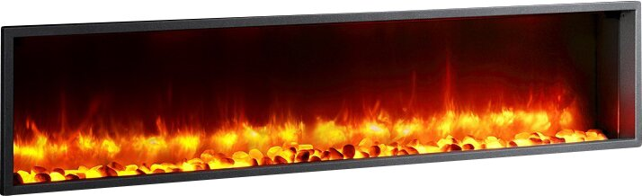 "63"" LED Electric Fireplace Insert"