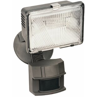 X-250 LED 1-Light Flood Light with Motion Sensor