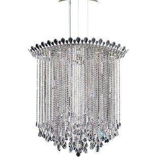 Trilliane 8-Light Crystal Chandelier by S..
