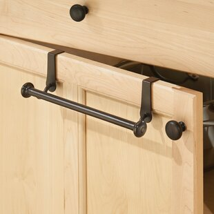 Duff 10.5 Over the Cabinet Towel Bar by Rebrilliant