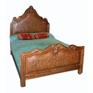 New World Trading Upholstered Panel Bed