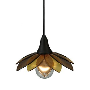 Meyda Tiffany Metro Fusion Bodnant 1-Light Novelty Pendant