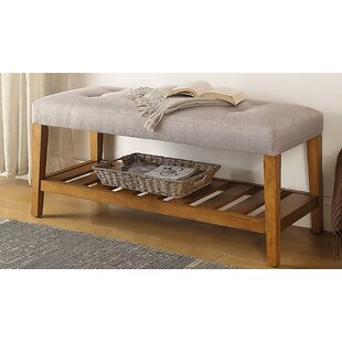 Warwickshire Wood Storage Bench by Charlton Home