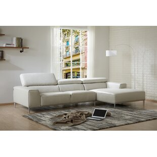 Orren Ellis Yablonski Leather Sofa & Chaise