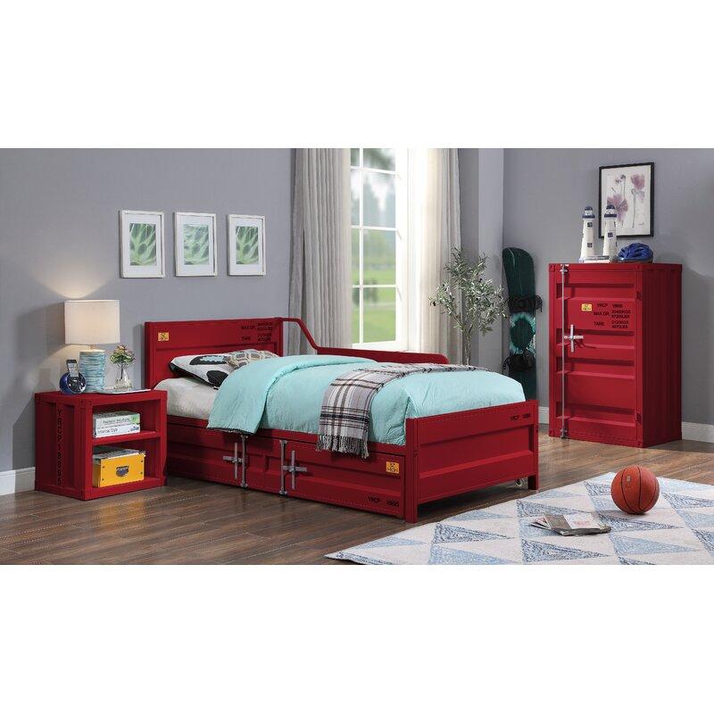 17 Stories Merienda Twin Panel Configurable Bedroom Set Reviews Wayfair