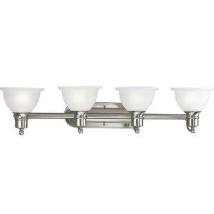 Guide to buy Gradall 4-Light Vanity Light By Three Posts